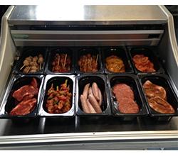 Vleesmix compleet 5 stuks p.p. mix 10 soorten € 7.50