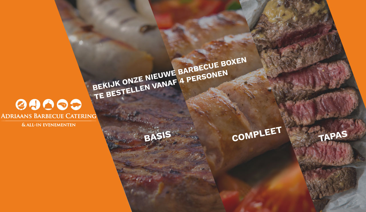Adriaans Barbecue Catering banner