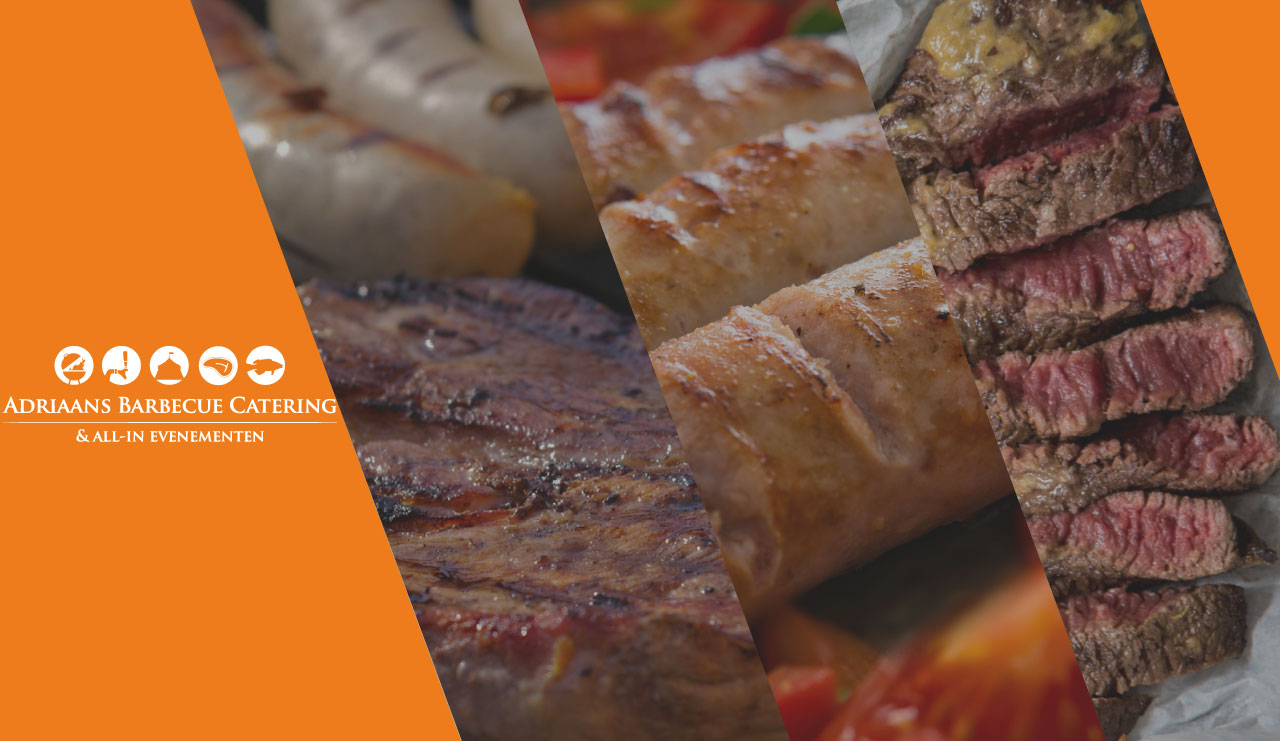 Adriaans Barbecue Catering banner mobiel